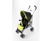 Buggy Kinderwagen Sportwagen schwarz/neon