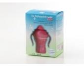 Dr. Schandelmeier 355404 Trinklernflasche Trinkhalmflasche 180 ml, pink