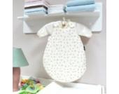 AN2-68-02 Baby-Joy DUO SET Babyschlafsack Schlafsack Jersey ANNA 62/68cm Winterschlafsack Blau