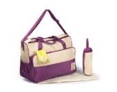 2 tlg Baby Farbe beige orange Wickeltasche Pflegetasche Windeltasche Babytasche Reise Farbauswahl