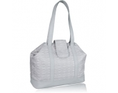 LÄSSIG Glam Wickeltasche MARY Tote Bag Design grey