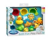 playgro Badespielzeug-Geschenkset 15-teilig (0182933)